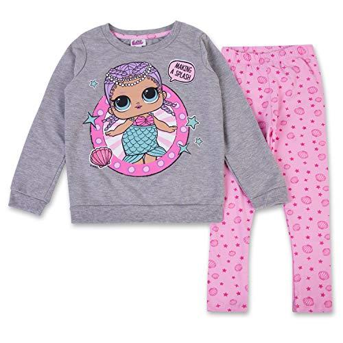 エルオーエルサプライズ 人形 ドール L.O.L. Surprise! Girls Clothing Set Toy Girls Hoodie & Legging Set (グレー/ピンク, 4)エルオーエルサプライズ 人形 ドール