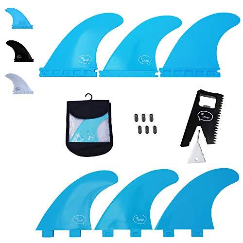サーフィン フィン マリンスポーツ 【送料無料】Ho Stevie! Fiberglass Reinforced Polymer Surfboard Fins - Thruster (3 Fins) FCS or Futures Sizes, Choose Color (Aqua, Futures)サーフィン フィン マリンスポーツ