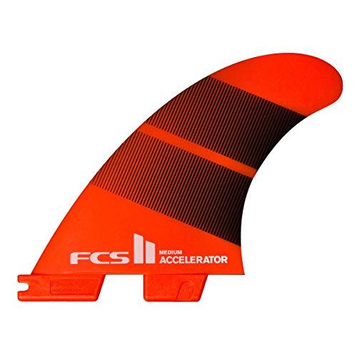 サーフィン フィン マリンスポーツ 【送料無料】FCS II Accelerator Neo Glass Thruster Fin Set Tang Gradient Largeサーフィン フィン マリンスポーツ