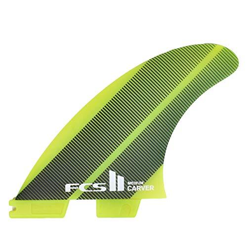 サーフィン フィン マリンスポーツ 【送料無料】FCS II Carver Neo Glass Tri Fin Set - Acid Gradient - Mediumサーフィン フィン マリンスポーツ