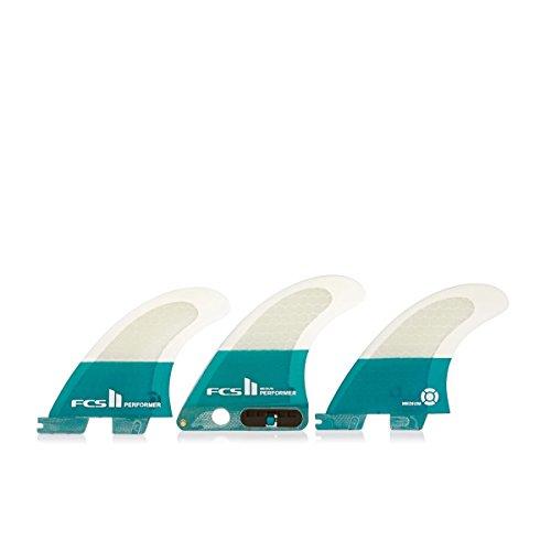 サーフィン フィン マリンスポーツ 【送料無料】FCS Surf ll SUP Performance PC Tri Fin Set, Mediumサーフィン フィン マリンスポーツ