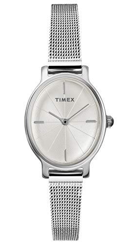 タイメックス 腕時計 レディース 【送料無料】Timex Women's Year-Round Quartz Watch with Stainless Steel Strap, Silver, 8 (Model: TW2R94200)タイメックス 腕時計 レディース
