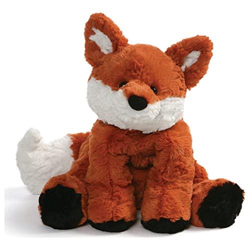 ガンド ぬいぐるみ リアル お世話 かわいい GUND Cozys Collection Fox Stuffed Animal Plush, オレンジ and 白い, 8