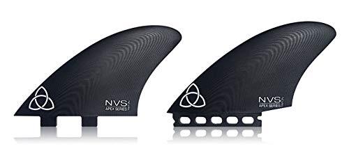 サーフィン フィン マリンスポーツ 【送料無料】Naked Viking Surf Triton Twin Keel Fins, Apex Series G10, FCS Compatibleサーフィン フィン マリンスポーツ