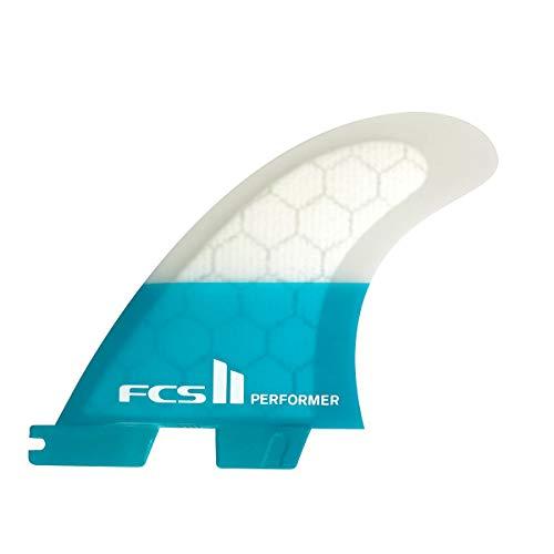サーフィン フィン マリンスポーツ 【送料無料】FCS Ii Sup Performer Performance Core Tri Fin Medium Tealサーフィン フィン マリンスポーツ