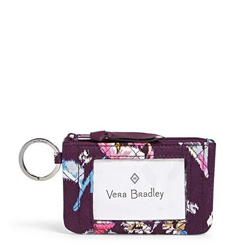 ヴェラブラッドリー パスケース IDケース 定期入れ ベラブラッドリー Vera Bradley Signature Cotton Zip, Indiana Roseヴェラブラッドリー パスケース IDケース 定期入れ ベラブラッドリー