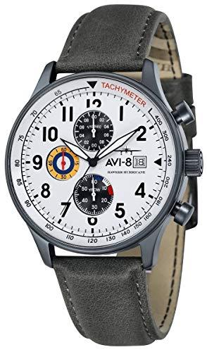アヴィエイト アビエイト 腕時計 メンズ イギリス 【送料無料】AVI-8 Mens Hawker Hurricane Watch - Grey/Whiteアヴィエイト アビエイト 腕時計 メンズ イギリス
