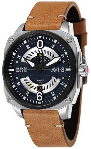 アヴィエイト アビエイト 腕時計 メンズ イギリス 【送料無料】AVI-8 Mens Hawker Hunter Watch - Tan/Blueアヴィエイト アビエイト 腕時計 メンズ イギリス
