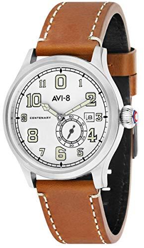 アヴィエイト アビエイト 腕時計 メンズ イギリス 【送料無料】AVI-8 Mens Fly Boy Watch - Tan/Whiteアヴィエイト アビエイト 腕時計 メンズ イギリス