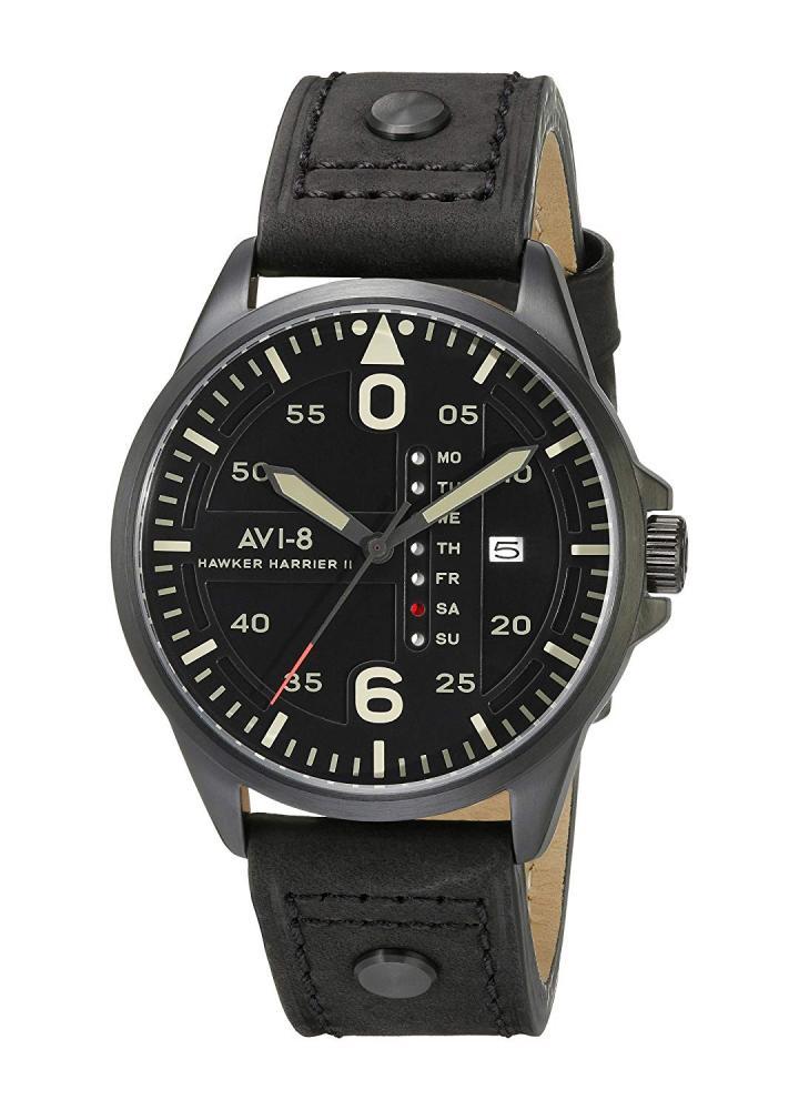 アヴィエイト アビエイト 腕時計 メンズ イギリス AVI-8 Men's AV-4003-07 Hawker Harrier II Analog Display Japanese Quartz Black Watchアヴィエイト アビエイト 腕時計 メンズ イギリス