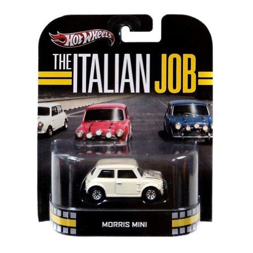 ホットウィール マテル ミニカー ホットウイール 【送料無料】2013 Hot Wheels Retro Entertainment The Italian Job - Morris Mini - Whiteホットウィール マテル ミニカー ホットウイール