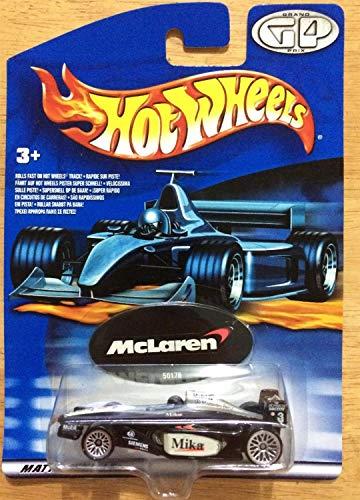 ホットウィール マテル ミニカー ホットウイール 【送料無料】Hot Wheels Grand Prix Racing Series Year 2000 F1 McLaren #1 Mika Hakkinenホットウィール マテル ミニカー ホットウイール