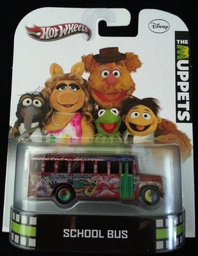 ホットウィール マテル ミニカー ホットウイール 【送料無料】Hot Wheels 2013 Disney The Muppets School Bus