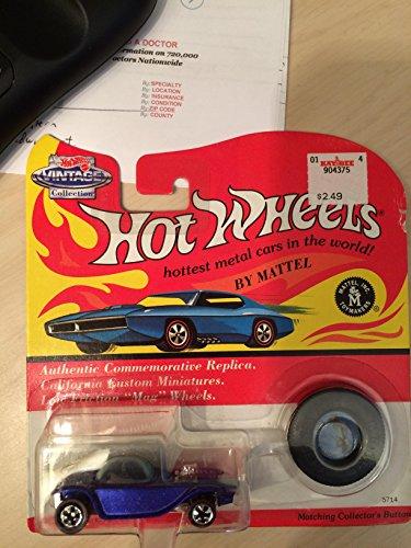 ホットウィール マテル ミニカー ホットウイール 【送料無料】Hot Wheels Vintage Collection Beatnik Bandit Authentic Commemorative Replica California Custom Dark Green Sparkleホットウィール マテル ミニカー ホットウイール