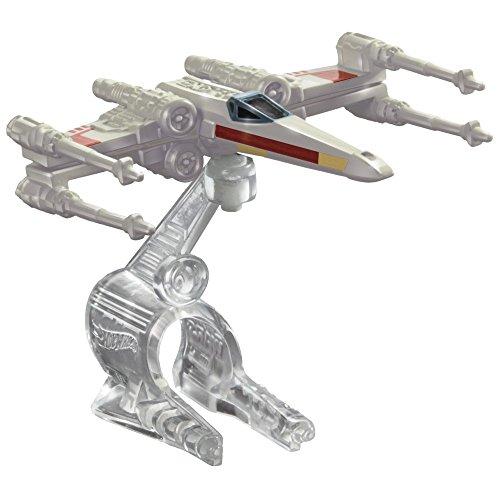 ホットウィール マテル ミニカー ホットウイール 【送料無料】Hot Wheels Star Wars Starship X-Wing (Wings Closed) Vehicleホットウィール マテル ミニカー ホットウイール
