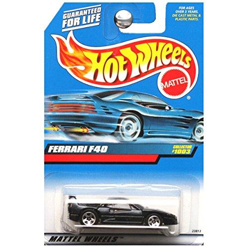 ホットウィール マテル ミニカー ホットウイール 【送料無料】Hot Wheels 1999 First Editions #1003 Ferrari F40 in Blackホットウィール マテル ミニカー ホットウイール