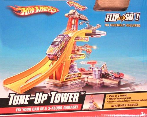 ホットウィール マテル ミニカー ホットウイール 【送料無料】Hot Wheels Flip 'n Go Tune-up Towerホットウィール マテル ミニカー ホットウイール