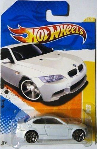 ホットウィール マテル ミニカー ホットウイール 【送料無料】2011 Hot Wheels '10 BMW M3 HW PREMIERE 26 of 50, #26 WHITEホットウィール マテル ミニカー ホットウイール