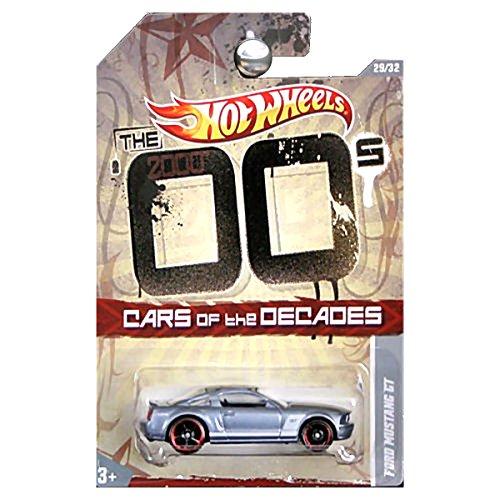 ホットウィール マテル ミニカー ホットウイール 【送料無料】Hot Wheels 2011 Decades 2000's 00's Ford Mustang GT Silver Grey Charcoalホットウィール マテル ミニカー ホットウイール