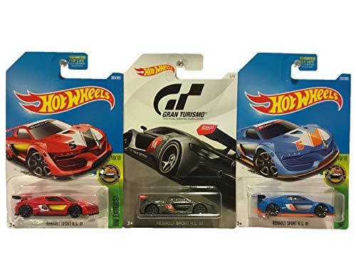 ホットウィール マテル ミニカー ホットウイール 【送料無料】Hot Wheels Renault Sport R.S. 01 3 Pack Bundleホットウィール マテル ミニカー ホットウイール