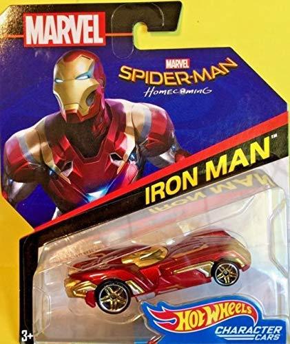 ホットウィール マテル ミニカー ホットウイール Iron Man Hot Wheels Marvel Character Car (Spiderman: Homecoming Movie version)ホットウィール マテル ミニカー ホットウイール