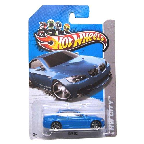 ホットウィール マテル ミニカー ホットウイール 【送料無料】Hot Wheels 2013, BMW M3 (BLUE), HW CITY, #7/250. 1:64 Scale.ホットウィール マテル ミニカー ホットウイール