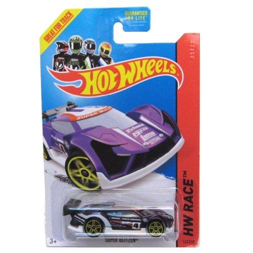 ホットウィール マテル ミニカー ホットウイール Hot Wheels 2014 Track Aces Hw Race Purple Super Blitzen 163/250ホットウィール マテル ミニカー ホットウイール
