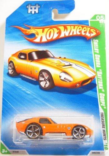 ホットウィール マテル ミニカー ホットウイール Hot Wheels Shelby Cobra Daytona Coupe 05/12 Treasure Hunts 2010 049/240ホットウィール マテル ミニカー ホットウイール