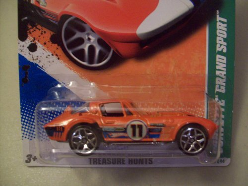 ホットウィール マテル ミニカー ホットウイール Hot Wheels 2011 Treasure Hunts Corvette Grand Sportホットウィール マテル ミニカー ホットウイール