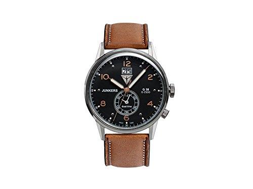 ユンカース ドイツ 腕時計 メンズ 【送料無料】Junkers 6940-2 Series G38 Ed. 1 Swiss Quartz Watchユンカース ドイツ 腕時計 メンズ