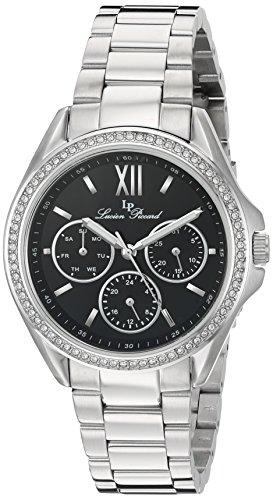 ルシアンピカール 腕時計 レディース Lucien Piccard 10052-11 W Eclipse SS MulFunct Blk Dlルシアンピカール 腕時計 レディース