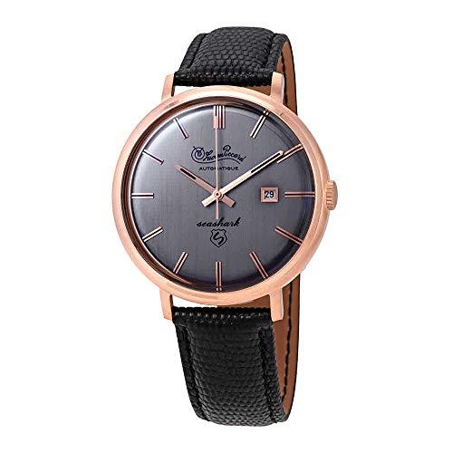 ルシアンピカール 腕時計 メンズ 【送料無料】Lucien Piccard Seashark Grey Dial Men's Watch LP-18115-RG-04ルシアンピカール 腕時計 メンズ
