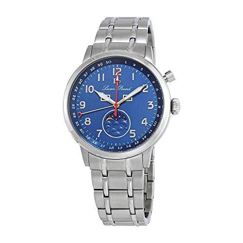 ルシアンピカール 腕時計 メンズ 【送料無料】Lucien Piccard Complete Calendar Blue Dial Watch 40016-33ルシアンピカール 腕時計 メンズ