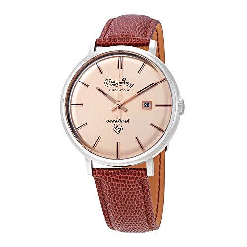 ルシアンピカール 腕時計 メンズ 【送料無料】Lucien Piccard Seashark Automatic Rose Dial Men's Watch LP-18115-09ルシアンピカール 腕時計 メンズ