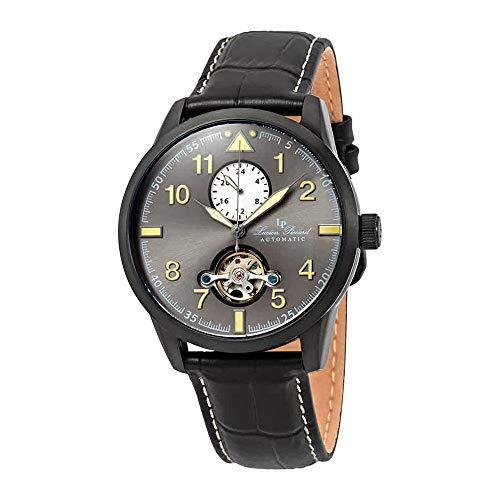 ルシアンピカール 腕時計 メンズ 【送料無料】Lucien Piccard Lodestar Auto GMT Automatic Men's Watch LP-28008A-BB-01ルシアンピカール 腕時計 メンズ