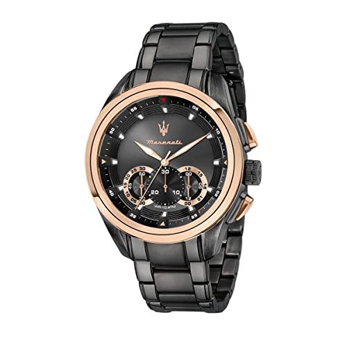 マセラティ イタリア 腕時計 メンズ 【送料無料】MASERATI TRAGUARDO 45 mm Chronograph Men's Watchマセラティ イタリア 腕時計 メンズ