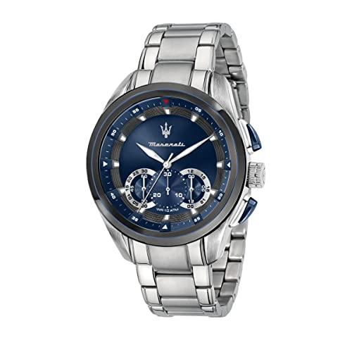 マセラティ イタリア 腕時計 メンズ 【送料無料】MASERATI TRAGUARDO 45 mm Men's Watchマセラティ イタリア 腕時計 メンズ
