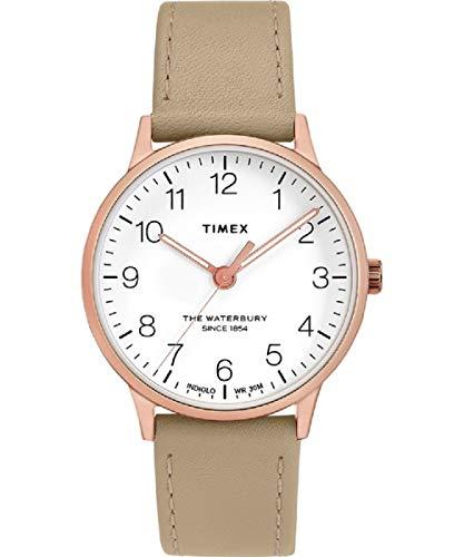 腕時計 タイメックス レディース 【送料無料】Timex The Waterbury Classic Quartz Movement White Dial Ladies Watch TW2T27000腕時計 タイメックス レディース
