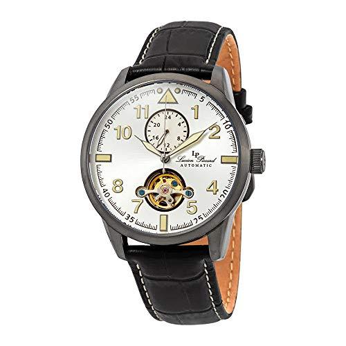 ルシアンピカール 腕時計 メンズ 【送料無料】Lucien Piccard Lodestar Auto GMT Automatic Men's Watch LP-28008A-GM-02Sルシアンピカール 腕時計 メンズ