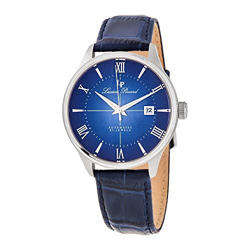 ルシアンピカール 腕時計 メンズ 【送料無料】Lucien Piccard Automatic Blue Dial Men's Watch LP-1881A-03ルシアンピカール 腕時計 メンズ