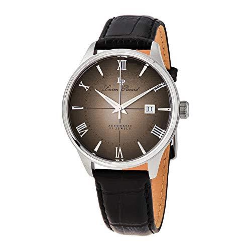 ルシアンピカール 腕時計 メンズ 【送料無料】Lucien Piccard Automatic Brown Dial Men's Watch LP-1881A-04ルシアンピカール 腕時計 メンズ