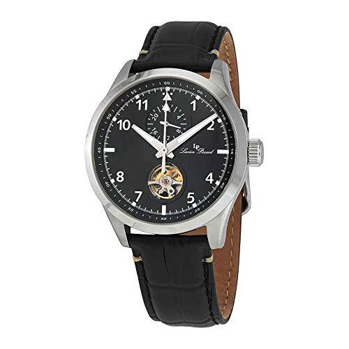 ルシアンピカール 腕時計 メンズ 【送料無料】Lucien Piccard GMT Open Heart Automatic Men's Watch 1295A1ルシアンピカール 腕時計 メンズ
