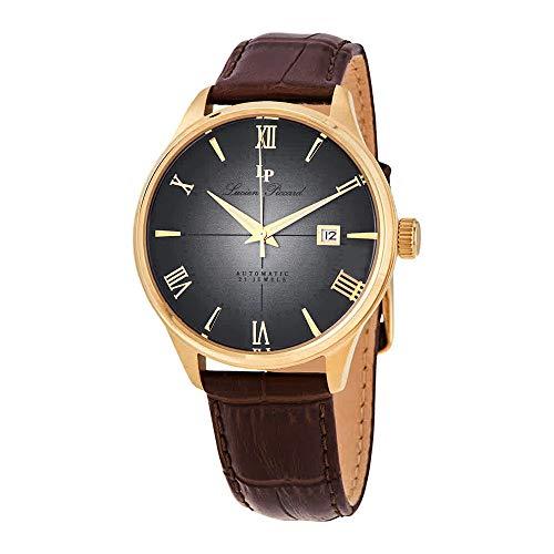 ルシアンピカール 腕時計 メンズ 【送料無料】Lucien Piccard Automatic Grey Dial Men's Watch LP-1881A-YG-01ルシアンピカール 腕時計 メンズ