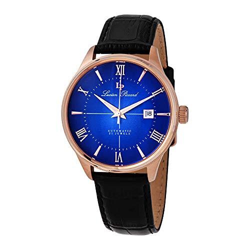 ルシアンピカール 腕時計 メンズ 【送料無料】Lucien Piccard Automatic Blue Dial Men's Watch LP-1881A-RG-03ルシアンピカール 腕時計 メンズ