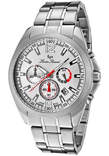 ルシアンピカール 腕時計 メンズ 【送料無料】Lucien Piccard Men's 'Catalina' Stainless Steel GTS Chronograph Watchルシアンピカール 腕時計 メンズ