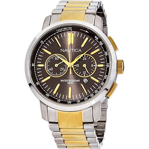ノーティカ 腕時計 メンズ 【送料無料】Nautica Quartz Movement Black Dial Men's Watch A23601Gノーティカ 腕時計 メンズ