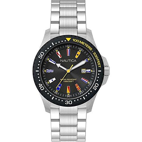 ノーティカ 腕時計 メンズ 【送料無料】NAUTICA Gents Jones Beach 44MM Wrist Watchノーティカ 腕時計 メンズ