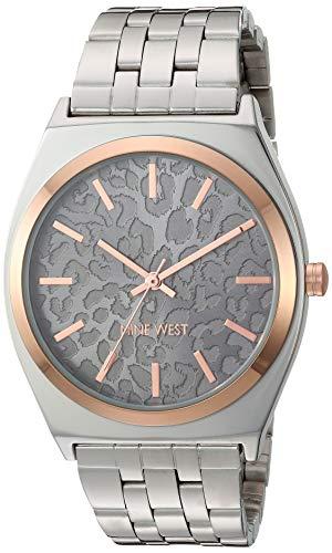 ナインウェスト 腕時計 レディース 【送料無料】Nine West Women's Silver-Tone Bracelet Watch, NW/2405GYRTナインウェスト 腕時計 レディース