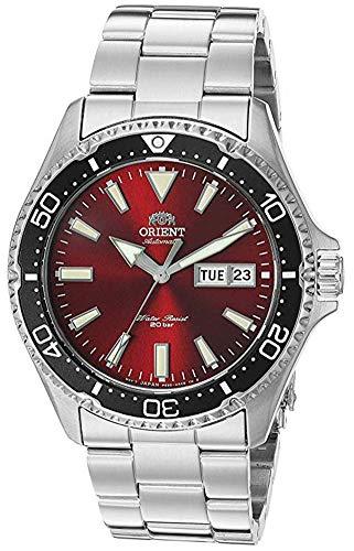 """オリエント 腕時計 メンズ 【送料無料】Orient Men""""s Kamasu Japanese Automatic Diving Watch with Stainless-Steel Strap, Silver, 22 (Model: RA-AA0003R19A)オリエント 腕時計 メンズ"""