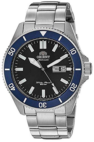オリエント 腕時計 メンズ 【送料無料】Orient Men's Kanno Japanese-Automatic Diving Watch with Stainless-Steel Strap, Silver, 21 (Model: RA-AA0009L19A)オリエント 腕時計 メンズ